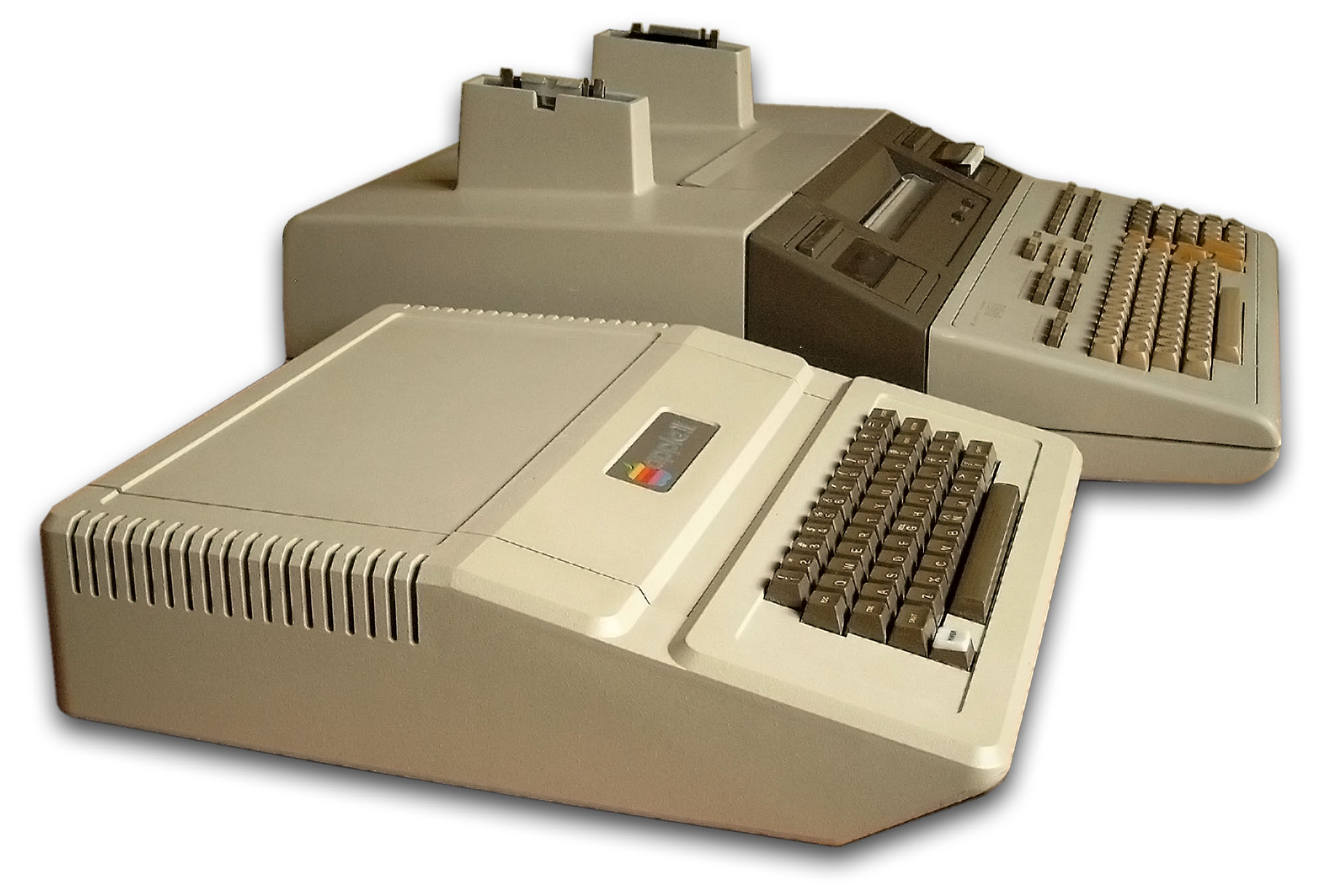 Comparison HP 9845 vs  Apple II and Commodore PET 2001
